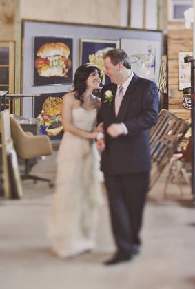 The Wedding Dress - Andi and Roland's Wedding in Atlanta, GA, USA