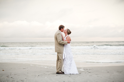 The Newlyweds - Pamela and Robert's Wedding in Atlantic Beach, NC, USA