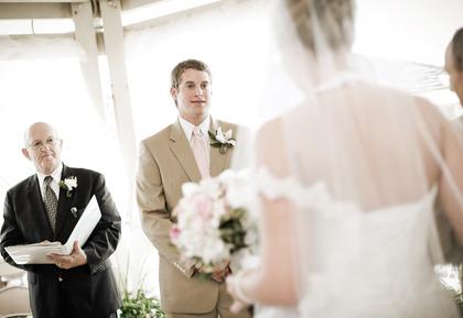 The Ceremony - Pamela and Robert's Wedding in Atlantic Beach, NC, USA