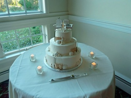 The Casual Gourmet  Cakes and Desserts - Falmouth Wedding In September in Falmouth, MA, USA
