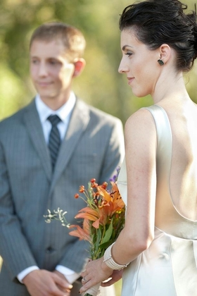 dress + jewelry, all from Etsy The Wedding Dress - Katherine and Travis's Wedding in Toscana, Italia