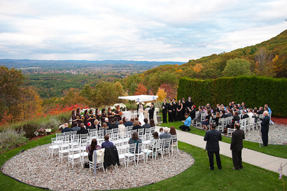 The Ceremony - Holyoke Wedding In October in Holyoke, MA, USA