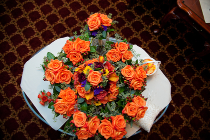 Flowers and Decor - Holyoke Wedding In October in Holyoke, MA, USA