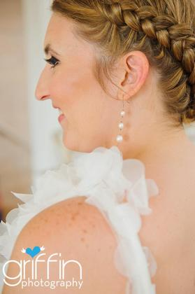 wedding day hari Hairstyles - Sarah and David's Beach Wedding in Port Aransas, TX, USA