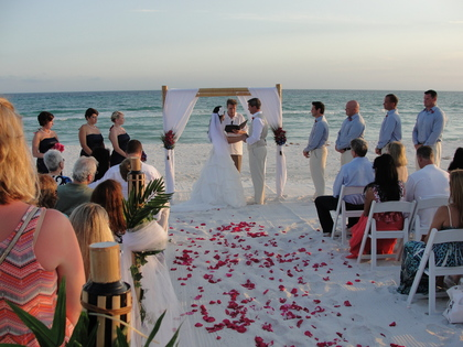 The Ceremony - Jennifer and Mark's Wedding in Santa Rosa Beach, FL, USA