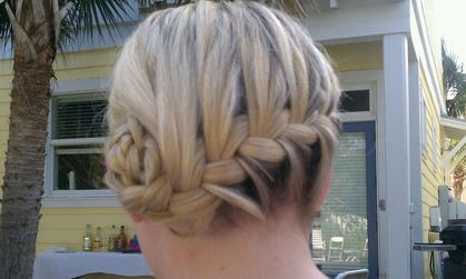 Hairstyles - Jennifer and Mark's Wedding in Santa Rosa Beach, FL, USA