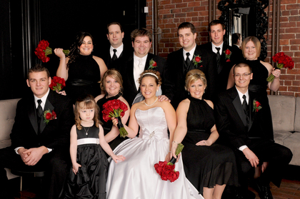 Wedding Party Attire - Matt and RacheL'sWedding in Saint John, NB, Canada