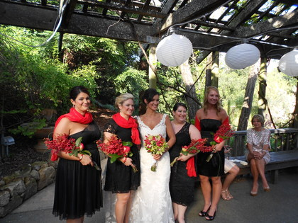 Wedding Party Attire - Marjorie and Keith's Wedding in Calistoga, CA, USA