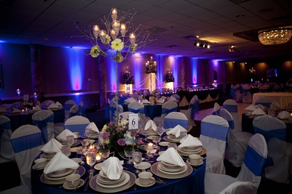 Steven Winowski of Creative Events and his team did an outstanding job with our event decor! Flowers and Decor - Matthew and Tiffany's Wedding in Sterling Heights, MI, USA