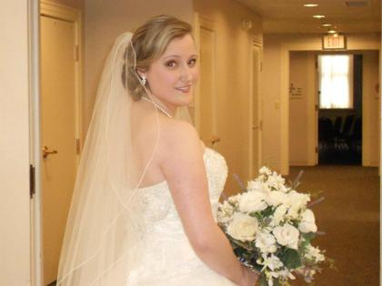 My hair style done by Gloss Studio in Newark, DE Hairstyles - West Chester Wedding In May in West Chester, PA, USA