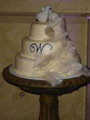 our cake on a bird bath Cakes and Desserts - West Chester Wedding In May in West Chester, PA, USA