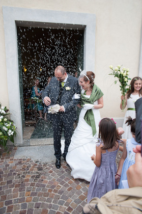 The Wedding Dress - Clarissa and Marco's Wedding in Mandello del Lario, Italy