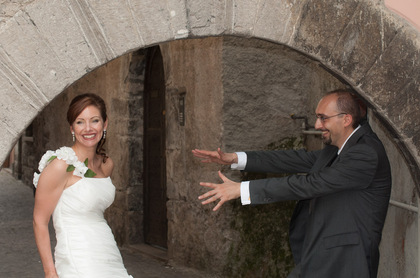 The Newlyweds - Clarissa and Marco's Wedding in Mandello del Lario, Italy