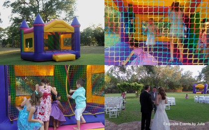 House of Bounce rented this fun moon bounce for the children. They loved it! It was a huge hit. The Favors - San Antonio Wedding In July in San Antonio, TX, USA