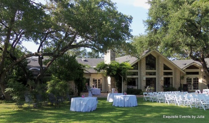The lovely Los Encinos Hill Country Estate  The Newlyweds - R and Stacy's Wedding in San Antonio, TX, USA