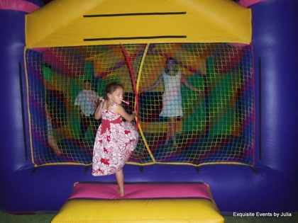 House of Bounce, the kids loved having something to do all evening! The Favors - R and Stacy's Wedding in San Antonio, TX, USA