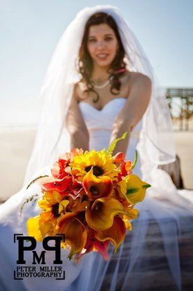 Flowers and Decor - Folly Beach Wedding In November in Folly Beach, SC, USA