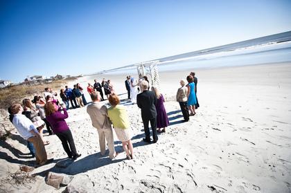 Wedding Party Attire - Folly Beach Wedding In November in Folly Beach, SC, USA