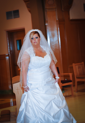 The Wedding Dress - Magan and Miguel 's Wedding in Lyndhurst, OH, USA