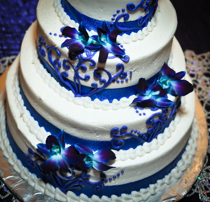 Cakes and Desserts - Magan and Miguel 's Wedding in Lyndhurst, OH, USA