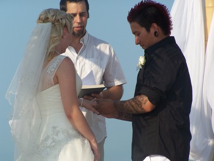 The Newlyweds - Sarah and AJ's Wedding in Port Aransas, TX, USA