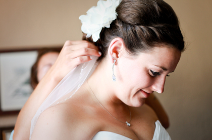 Hairstyles - Elizabeth and Steven's Wedding in St Louis, MO, USA