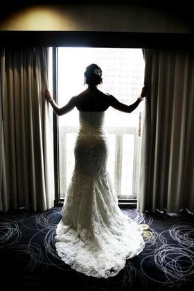 My dress is from Enzoani style Casablanca. The Wedding Dress - Bldg 180 North Wedding In August in San Francisco, CA, USA