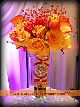 Flowers and Decor - Dr. Angie  and David's Wedding in Savannah, GA, USA