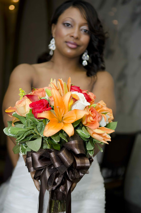 The flowers Flowers and Decor - Palos Hills Wedding In April in Palos Hills, IL, USA