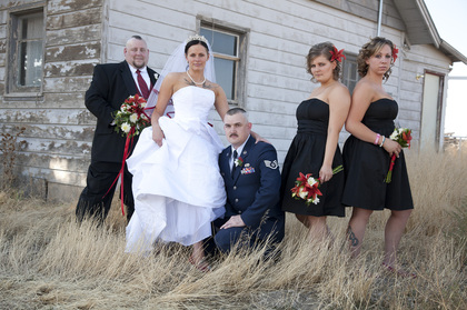 Wedding Party Attire - Sarah and James's Wedding in Kuna, ID, USA