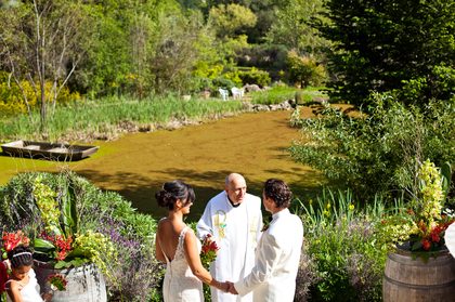 The Ceremony - Marjorie and Keith's Wedding in Calistoga, CA, USA