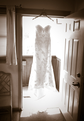 The Wedding Dress, Olga's bridal boutique - Tampa, FL - Marjorie and Keith's Wedding in Calistoga, CA, USA
