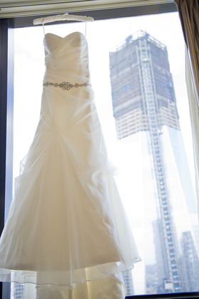 The Wedding Dress - Lindsay  and Peter's Wedding in New York, NY, USA