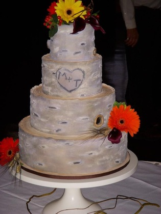 Cake from Gracie Moon Pie & Co Cakes and Desserts - Matt & Tiffany's Wedding!!! in Macomb Township, MI, USA