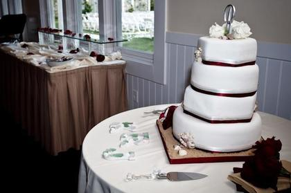 Cakes and Desserts - Kimberlee and Jarrett's Wedding in Stevensville, MD, USA