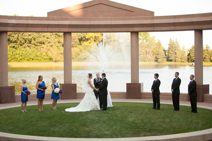The Ceremony - Amanda and Nathan's Wedding in Minnetonka, MN, USA