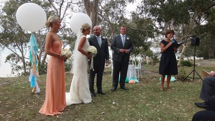 The Ceremony - Brooke and Paul's Wedding in Cronulla, NSW, Australia