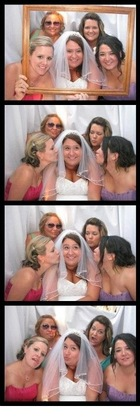 Photo booth - courtesy of S&S Rentals. They are FABULOUS!! Great price, great staff, great service! SO friendly and conscientious! The Favors - Ronald and Carone's Wedding in Othello, WA, USA
