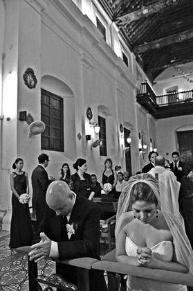 The Ceremony - Mery and Andres's Wedding in Cartagena, Bolivar, Colombia