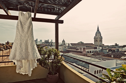 The Wedding Dress - Mery and Andres's Wedding in Cartagena, Bolivar, Colombia