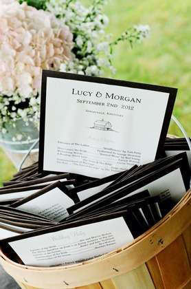 The Invitations - lucy and morgan's Wedding in Shelbyville, KY, USA