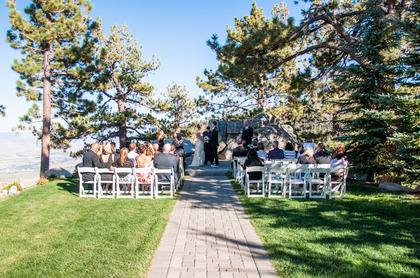 The Ceremony - Lake Tahoe Wedding In September in South Lake Tahoe, CA, USA