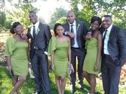 Wedding Party Attire - Prisque and Jean Pascal's Wedding in Ottawa, ON, Canada