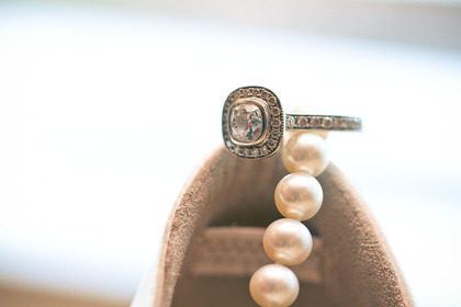 My gorgeous ring modeled after a tiffany's design. Jewelry - Michelle and Martin's Wedding in Milton, ON, Canada