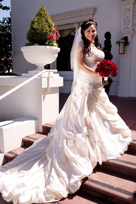 The Wedding Dress - Rachel and Macario's Wedding in San Jose, CA, USA