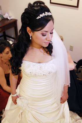 Hairstyles - Rachel and Macario's Wedding in San Jose, CA, USA