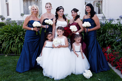 Wedding Party Attire - Rachel and Macario's Wedding in San Jose, CA, USA