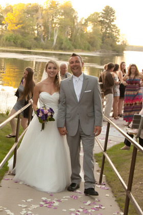 The Newlyweds - W Crooked Lake Ln Wedding In September in Crooked Lake Lane Crivitz, WI, Crivitz, WI 54114, USA