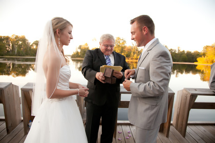 The Ceremony - W Crooked Lake Ln Wedding In September in Crooked Lake Lane Crivitz, WI, Crivitz, WI 54114, USA