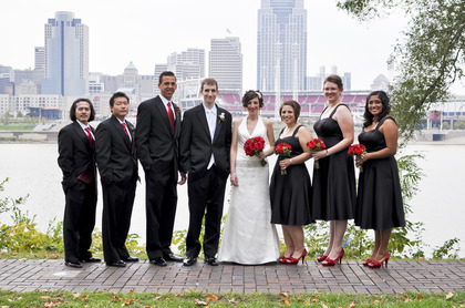 Wedding Party Attire - Cincinnati Wedding In October in Cincinnati, OH, USA